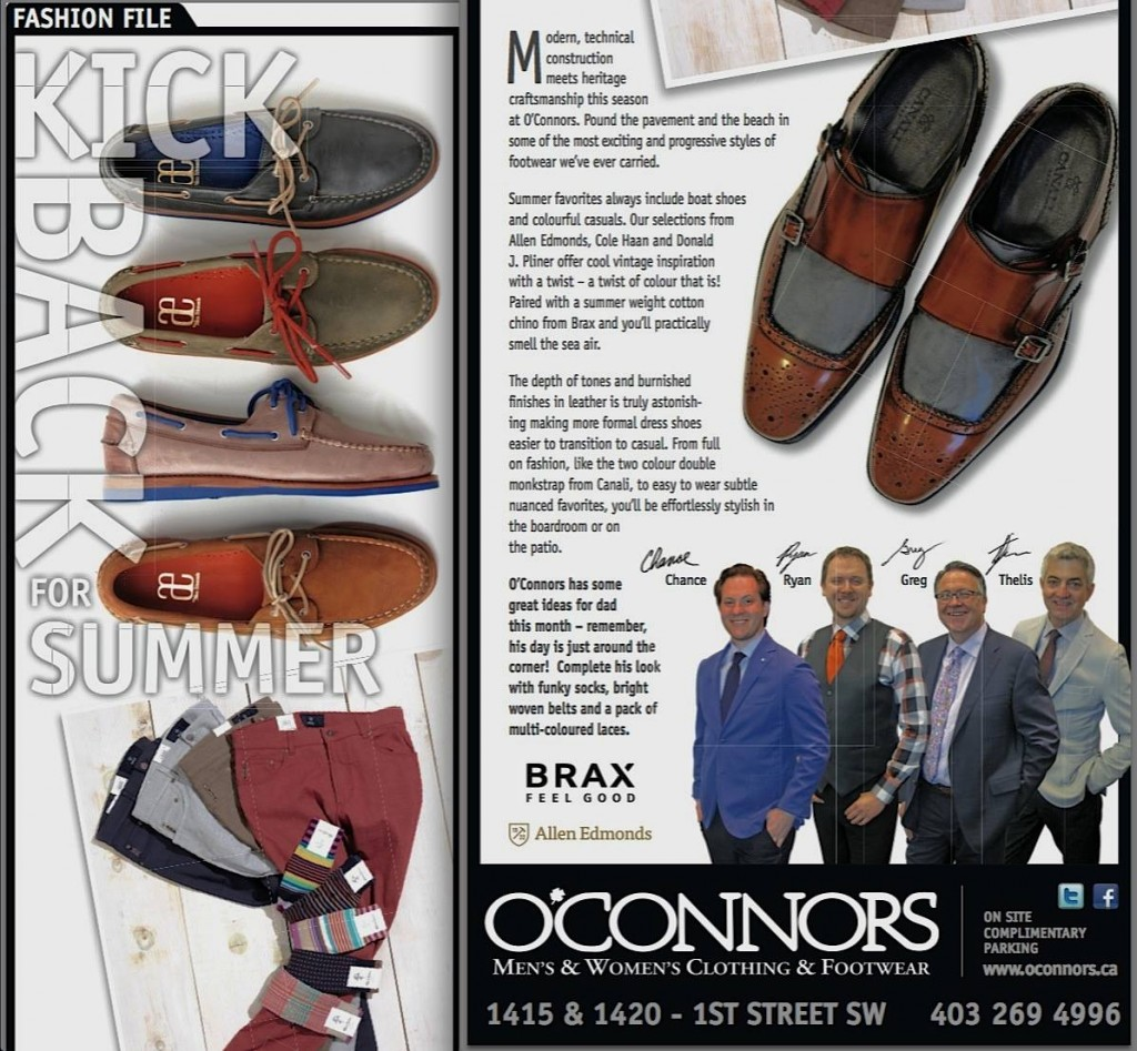 Kick Back for Summer | Fashion File O'Connors