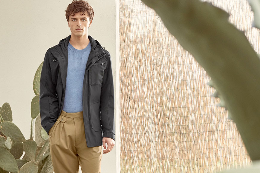 Casual elegance for uncertain times - Canali Spring/Summer 2021 - O'Connors Calgary